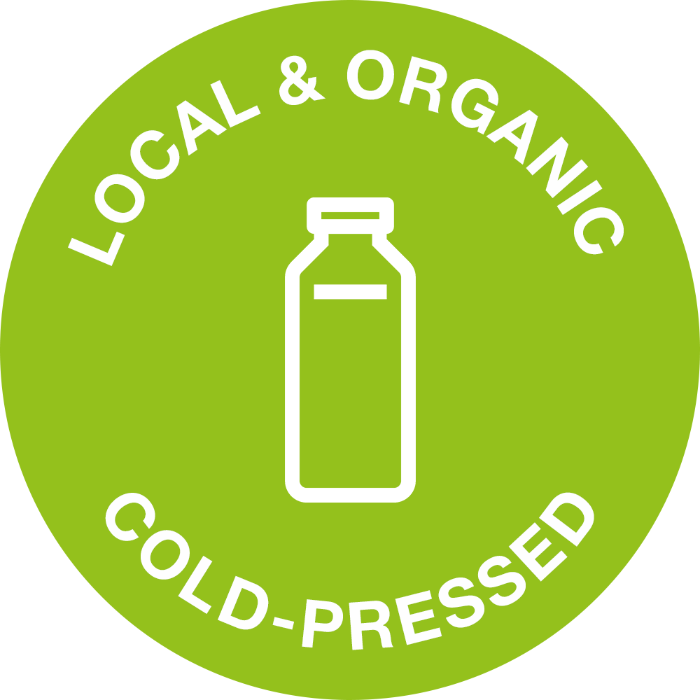 Local & Organic - Cold-Pressed